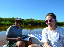 Manatee Bay field trip – project students experience!