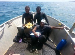 UWI student blogs on her 1st coral reef research project
