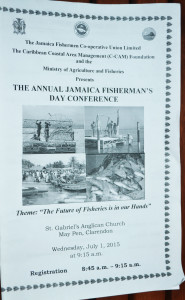 Fishermans conference - program cover